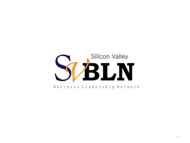 Silicon Valley BLN Launch Presentation