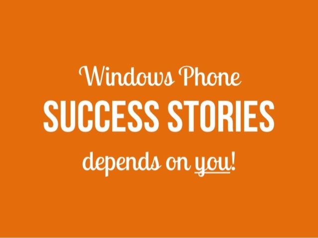 Silicon Valley Comes to the Baltics: Windows Phone success stories depends on you!