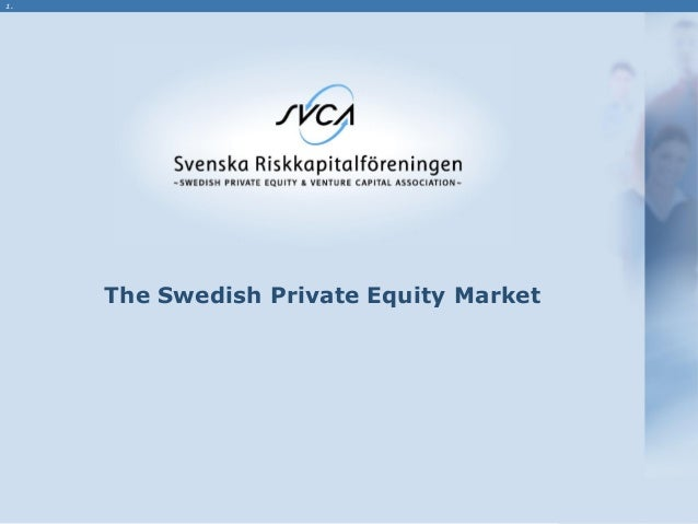 1. The Swedish Private Equity Market