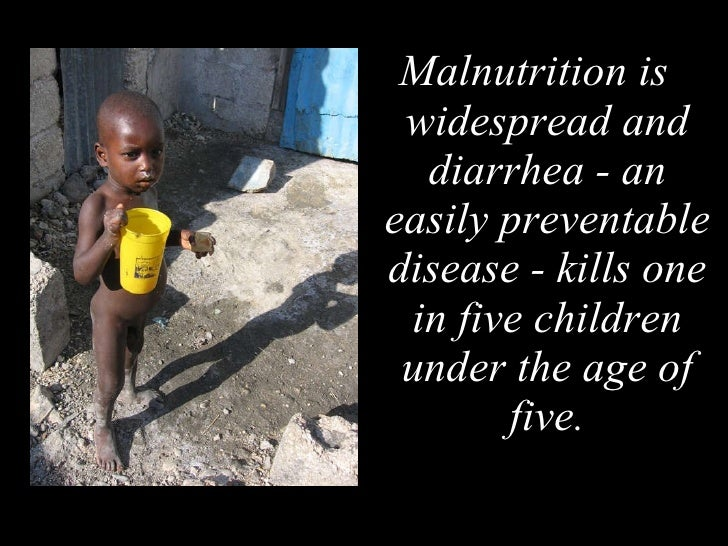 Diarrhea in Haiti