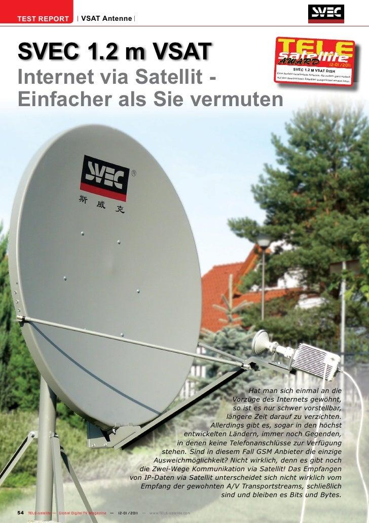 TEST REPORT                   VSAT AntenneSVEC 1.2 m VSAT                                                                 ...