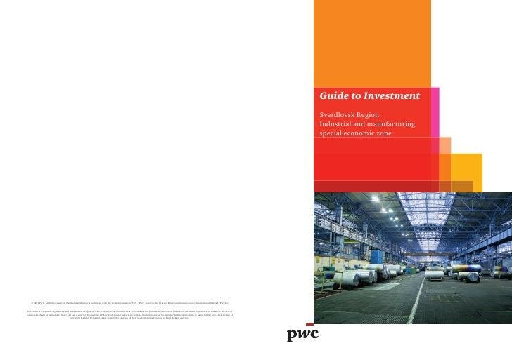 Guide to InvestmentSverdlovsk RegionIndustrial and manufacturingspecial economic zone
