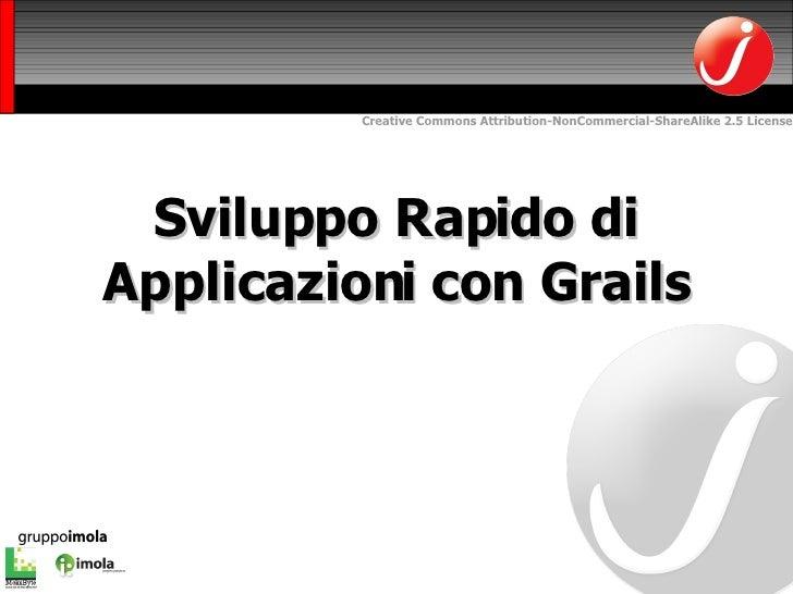 Sviluppo Rapido di Applicazioni con Grails