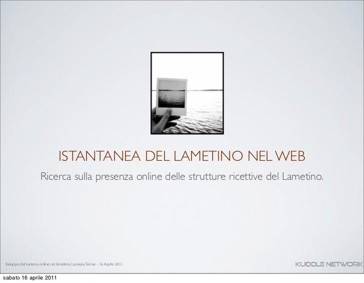 Sviluppo del turismo nel Lametino Calabria - Analisi e ricerca