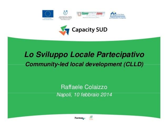 Sviluppo locale partecipativo