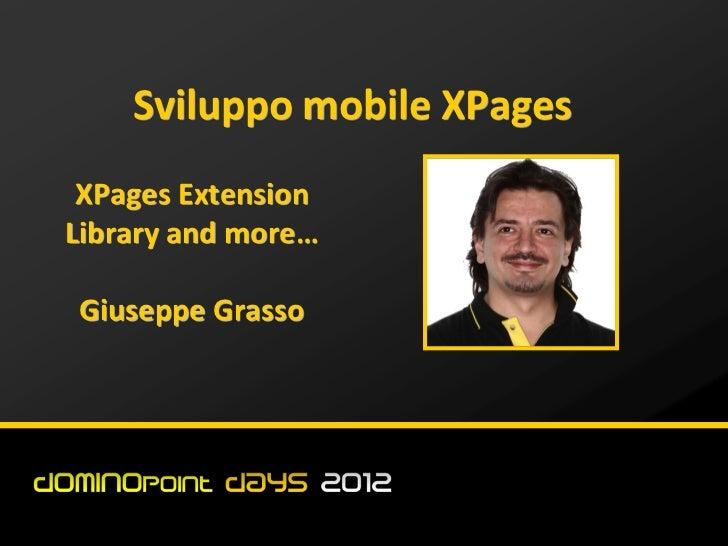 ##dd12 sviluppo mobile XPages