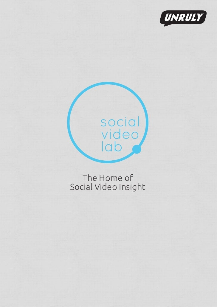 The Home ofSocial Video Insight