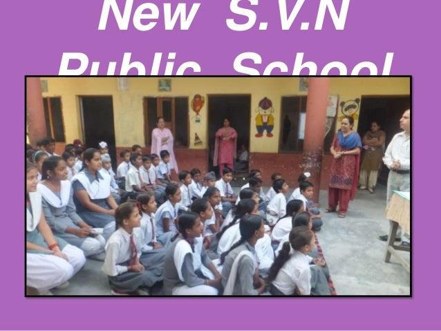 New S.V.NPublic School