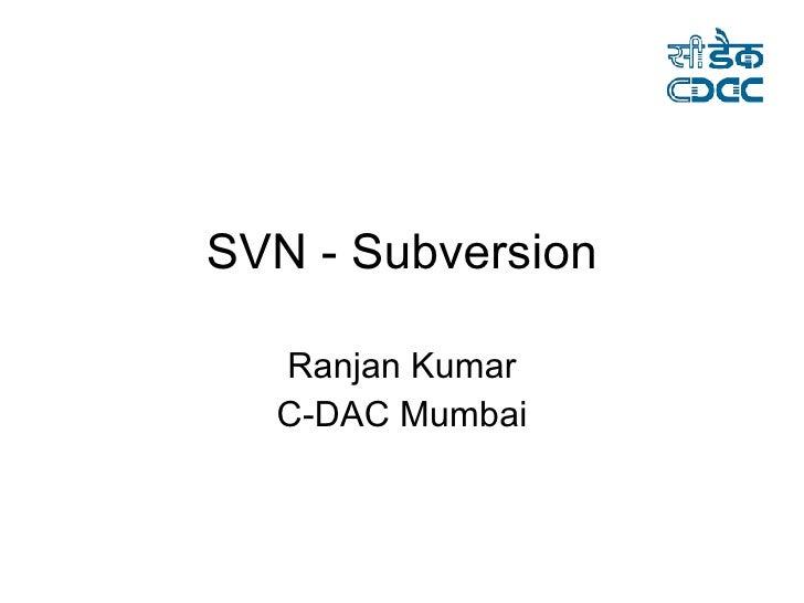 Svn Subversion