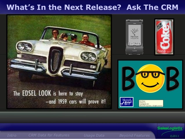 What should your next release contain? Ask the CRM