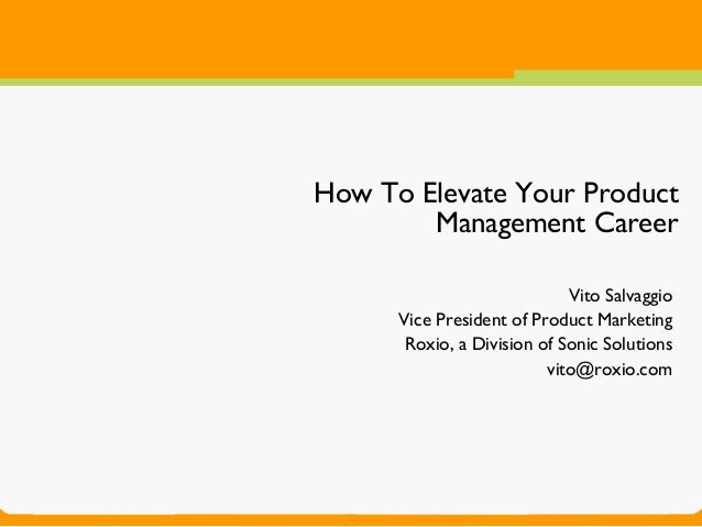 How to Accelerate Your Product Management Career