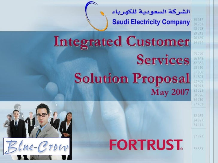 Integrated Customer             Services    Solution Proposal               May 2007                              Page 1