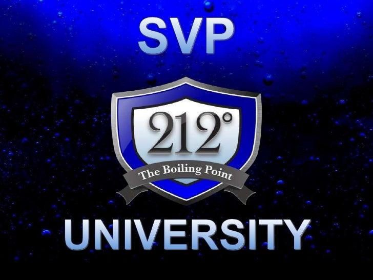 SVP<br />UNIVERSITY<br />