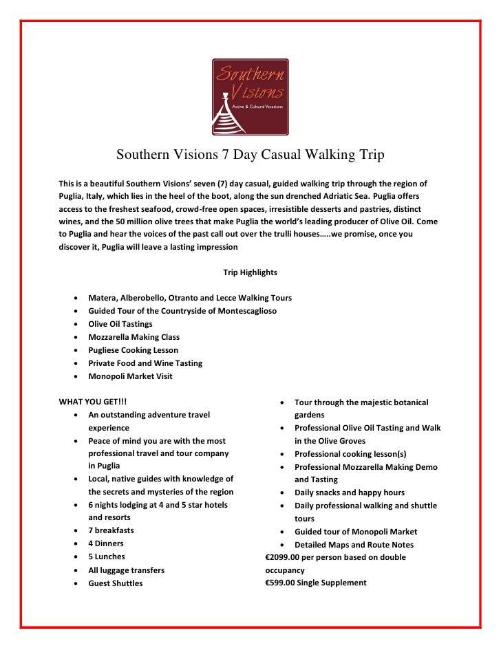 SVWC                                                  Walking Tour Casual                                                 ...