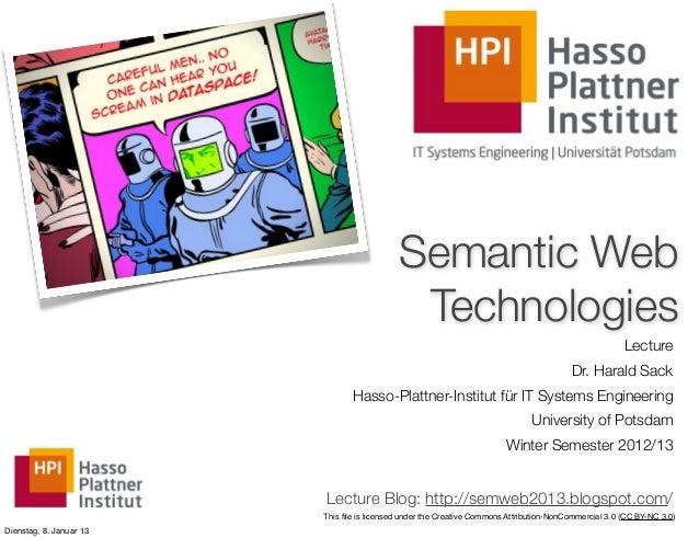 (11) Semantic Web Technologies  - Rules
