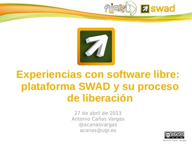 SWAD FLISOL 2013