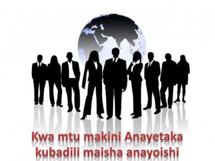 GWC swahili Presentation