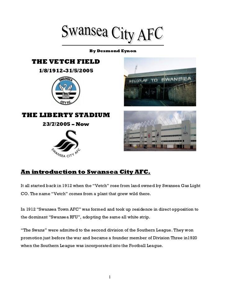 Swansea city afc final draft - de