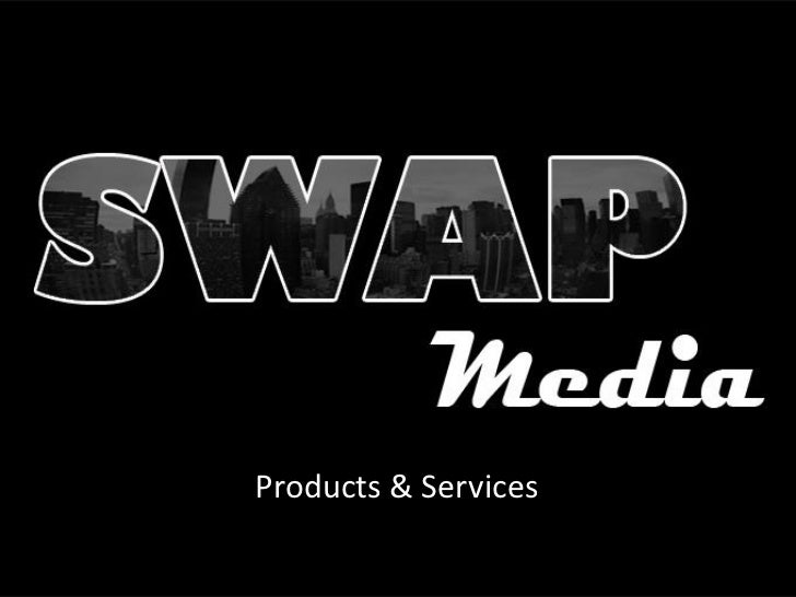 SWAP Products & Services