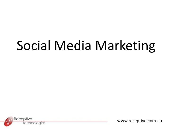 Presentation to Business Swap on Social Media Marketing
