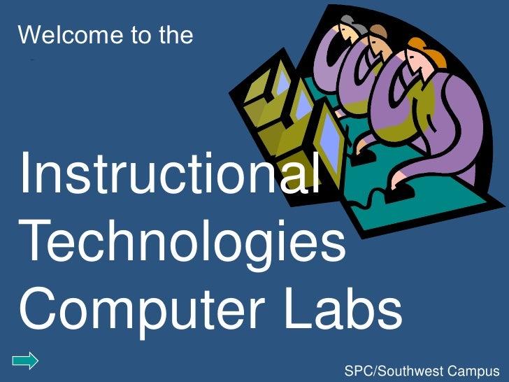 SWC Lab Orientation 5-20-09