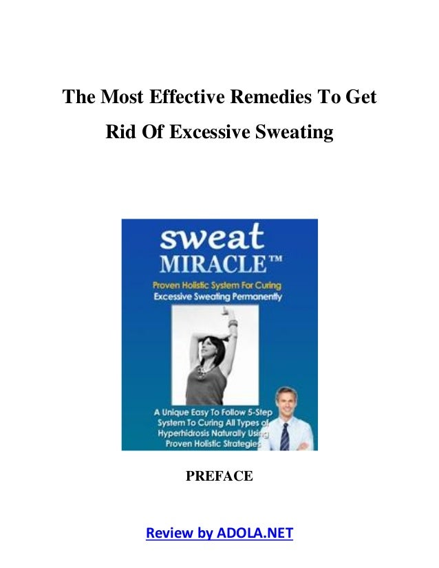 how to get rid of excessive sweating armpits