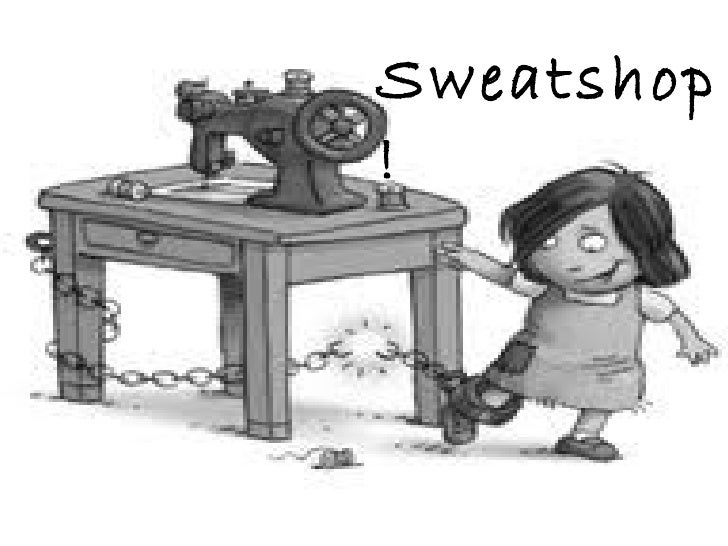what is a sweat shop essay