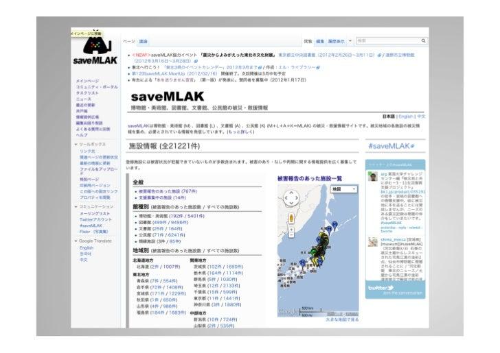 施設情報   Semanc Media Wiki    編集者: 300人近く    施設ページ数: 21,221 (2012/03/01)      ...