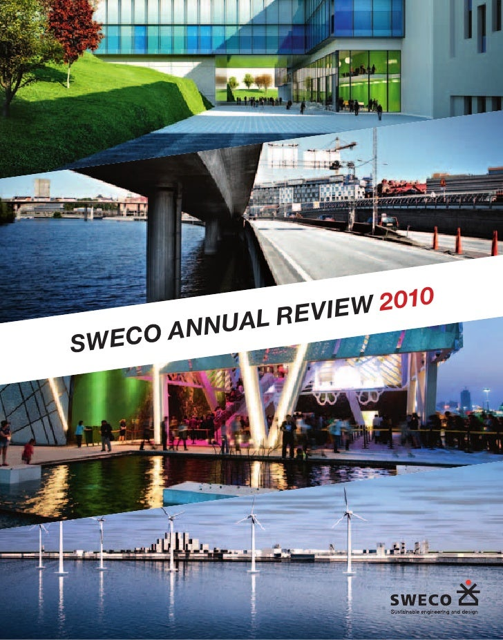 Sweco Annual Review 2010