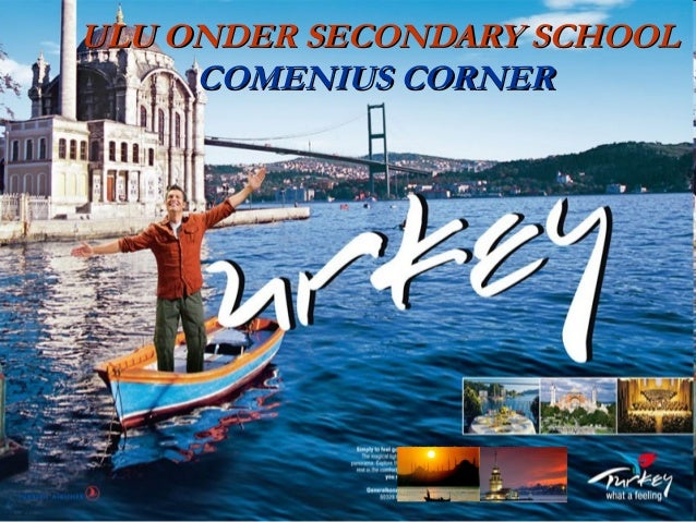ULU ONDER SECONDARY SCHOOL COMENIUS CORNER