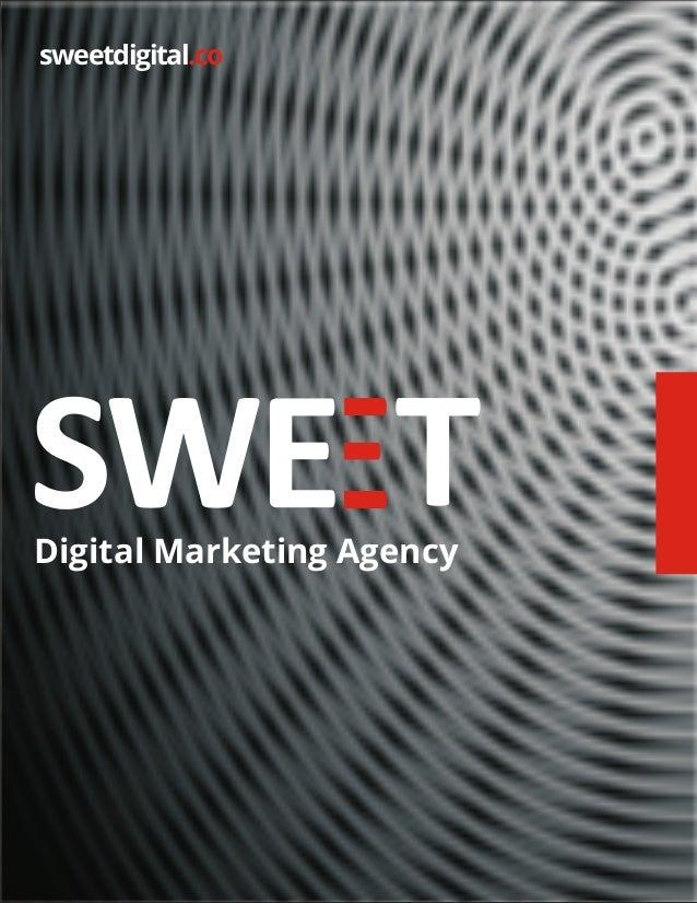 SWEET - Digital Marketing Agency - Brochure