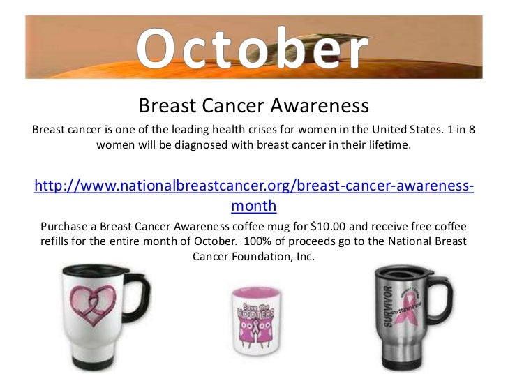 Breast Cancer AwarenessBreast cancer is one of the leading health crises for women in the United States. 1 in 8           ...