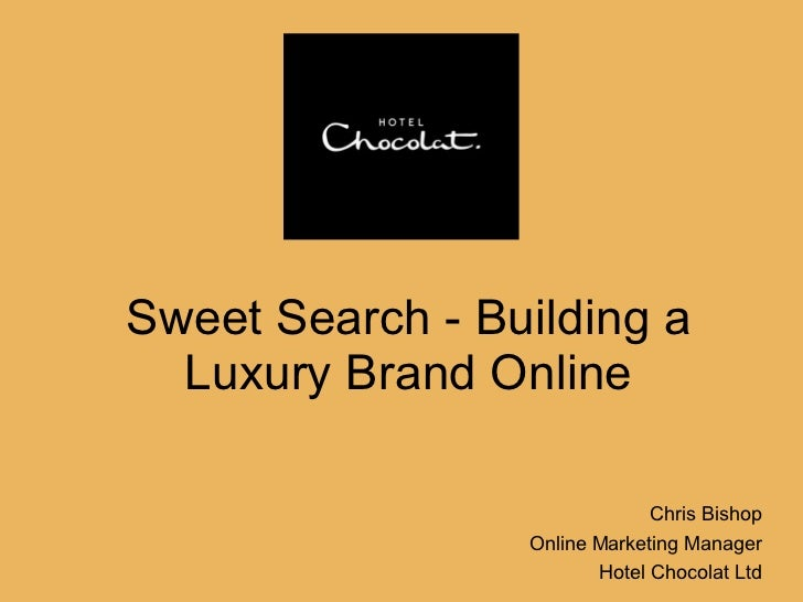Building a Luxury Brand Online via Search Engine Marketing