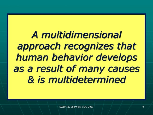 the multidimensional nature and purpose of A multidimensional perspective of college readiness: multidimensional nature of college and career the primary purpose of this study is to explore the.
