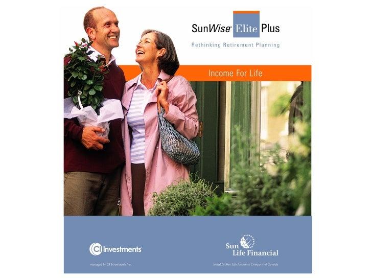 SunWise Elite Plus Presentation