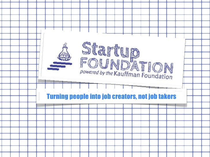 Turning people into job creators, not job takers