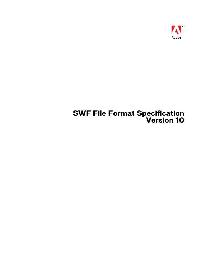 Swf File Format Spec V10