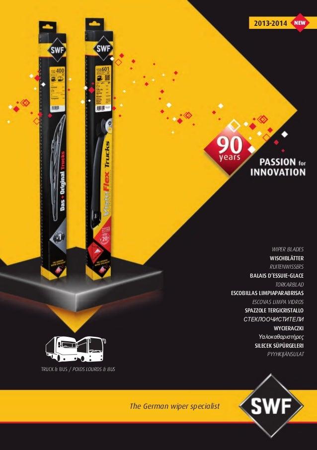 SWF Wiper blades 2013-2014 Truck catalogue 953189