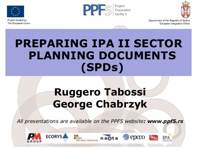 Project funded by The European Union  Government of the Republic of Serbia European Integration Office  PREPARING IPA II S...