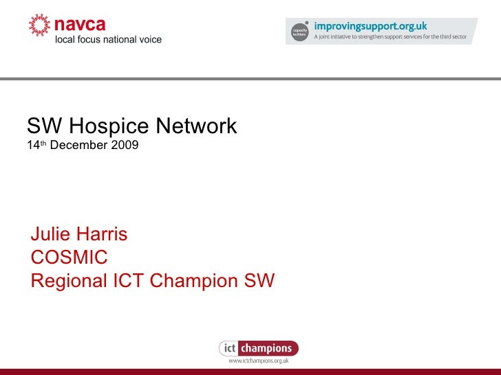 SW Hospice Network Reg Champs Presentation