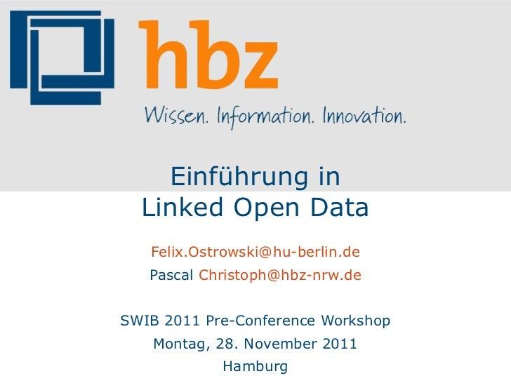 Einführung in Linked Data
