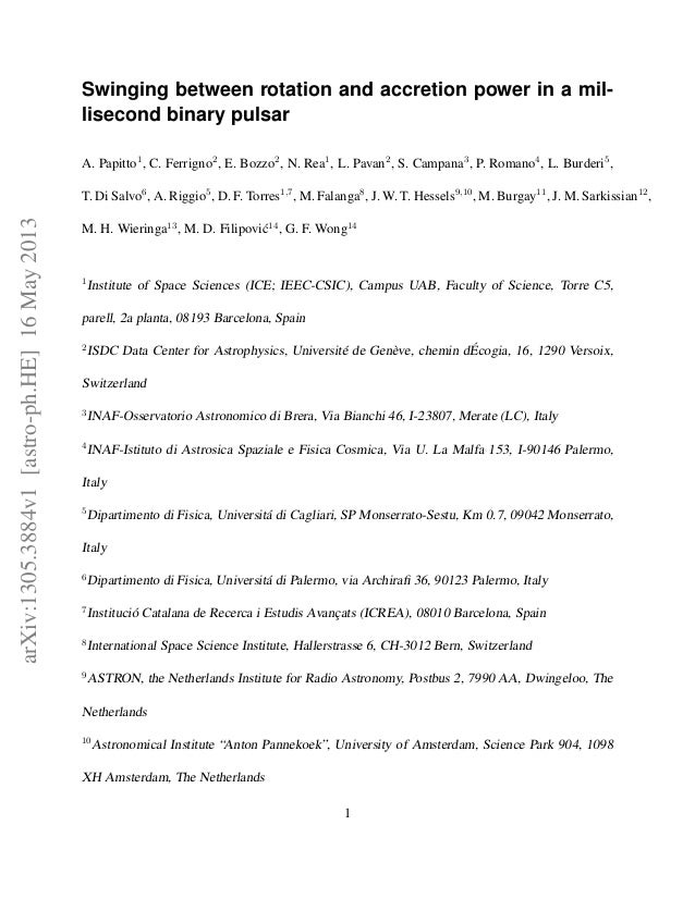 Swiging between rotation_and_accretion_power_in_a_millisecond_binary_pulsar