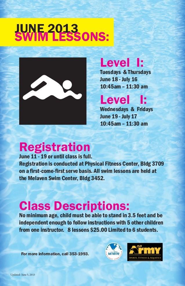 Swim lessons june_2013