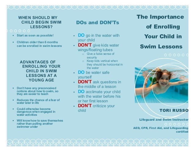 Importance of Swimming lessons by Tori-cc