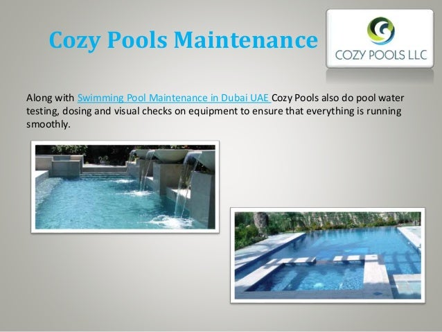 Cozy pools swimming pool companies in dubai for Pool vendors