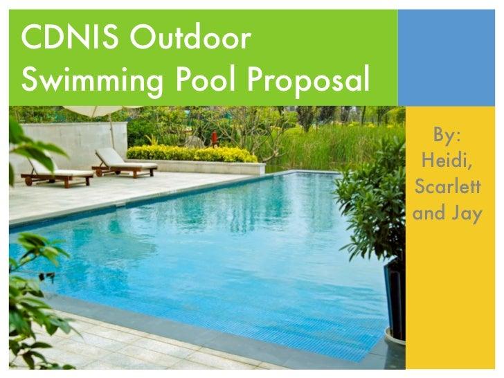 Swimming Pool Proposal