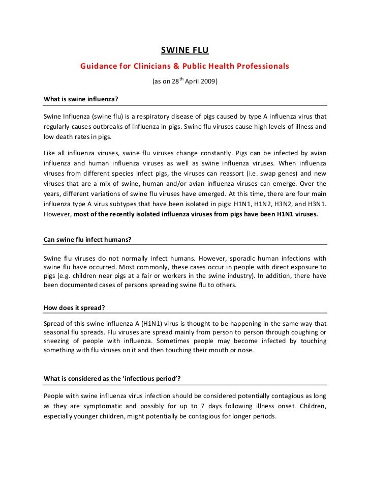 SWINEFLU              GuidanceforClinicians&PublicHealthProfessionals                                         (as...