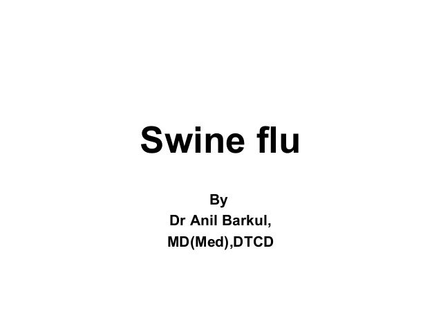 Swine flu ppt