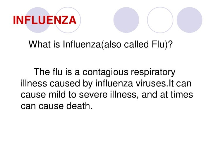 a brief overview of swine flu Webmd provides an overview of influenza -- and a bit of history about the flu.