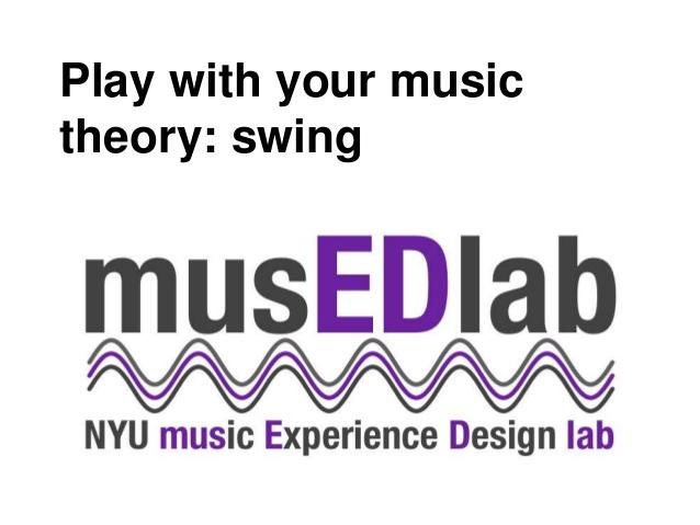 swing music theory 1
